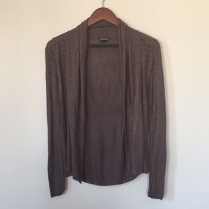Express Open Cardigan